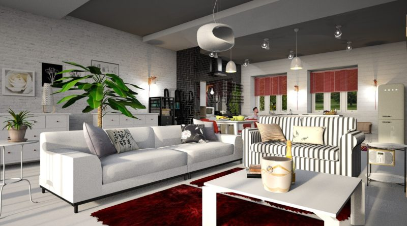 bytové doplňky v novém bytě