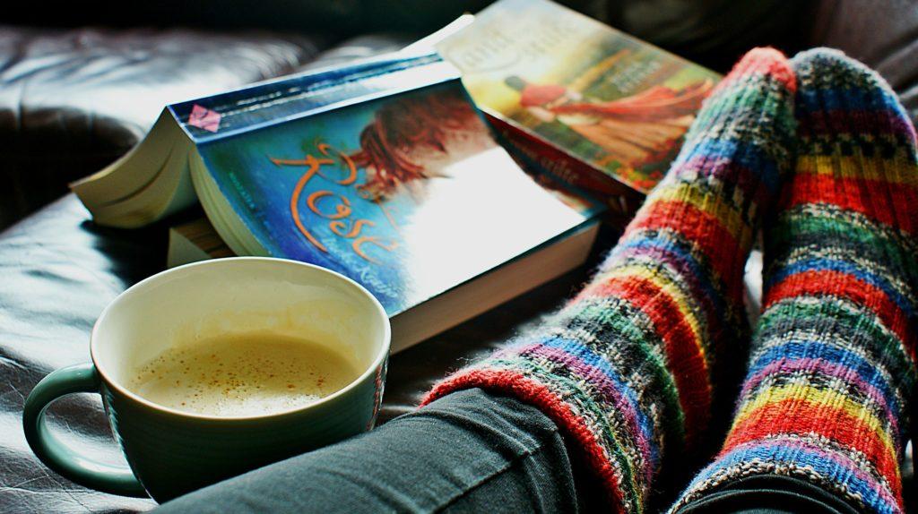 knihy a kafe