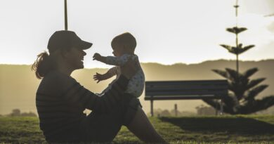 cvičení s miminkem