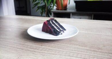 veganský čokoládový dort bez mléka a vajíček