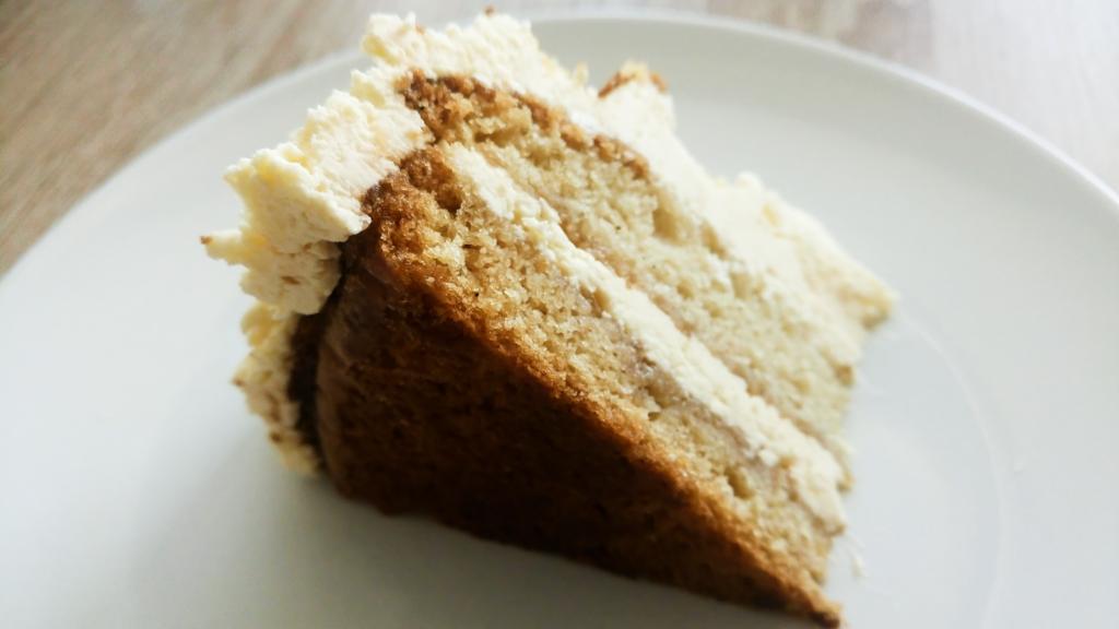 Veganský máslový dort bez mléka a vajíček