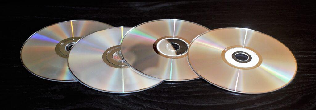 CD datové médium