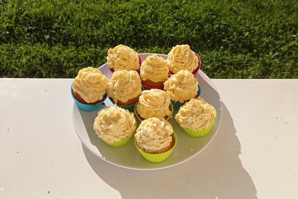 Muffiny bez másla i vajíček