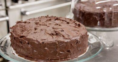 Zdravý pohankový dort bez mléka a vajec