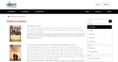 Elektronické knihy a specializované databáze elektronických knih